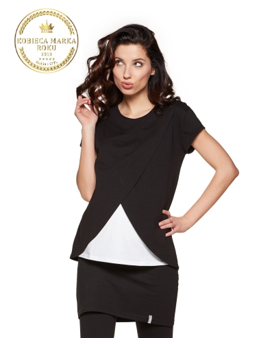 t-shirt LAVIS black